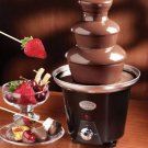 Nostalgia Electrics Chocolate Fondue Fountain, Black CFF965 NEW