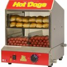 Benchmark The Dog Pound Hotdog Steamer 60048 Hotdog Steamer NEW