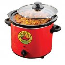 Nostalgia Electrics Fiesta Series Queso Chili Pot FQP400 Buffet & Party Servers