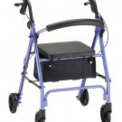 NOVA 4236PL VIBE 6 ROLLING WALKER-PURPLE New