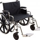 "Roscoe Extra Wide Bariatric Wheelchair Swingaway Footrests 28""x20"" Heavy Duty"