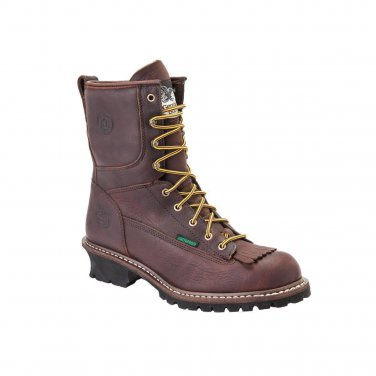 NEW Georgia Waterproof Logger Boots G7113 ALL SIZES.