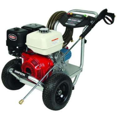 Simpson Professional 3800 PSI (Gas - Cold Water) Aluminum Frame Pressure Wash...