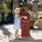 DESIGN TOSCANO British-Style Foundry Cast Iron Post Box
