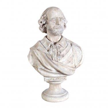 Design Toscano William Shakespeare Grand-Scale Sculptural Bust