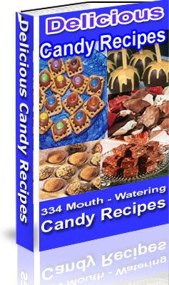 Delicious Candy Recipes (Free Shipping Worldwide)