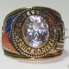 Mens TRUCKER TRUCK DRIVER RING CLEAR CZ Size 9 New