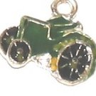 Green Old Iron Farm Show Tractors Charm Bracelet New