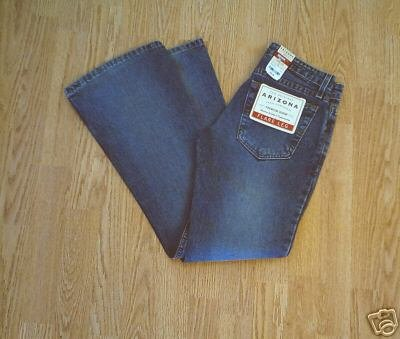 ARIZONA FADED LEG FLARE JEANS-SIZE 1-29 X 29-NWT