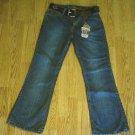ARIZONA FADED LEG STRETCH JEANS-SIZE 16-29 X 29-NWT