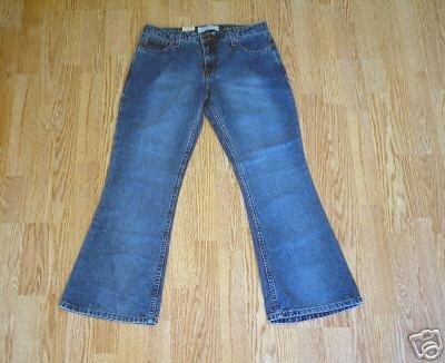 ARIZONA FADED LEG FLARE JEANS-9-31 X 29.5-NWT-NEW