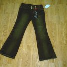 VANILLA STAR LOW RISE FLARE STRETCH JEANS-5-29 X 33-NWT