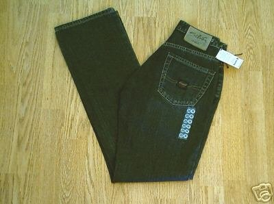 SILVER FADED LEG BOOTCUT JEANS-SIZE 25 X 32-NWT