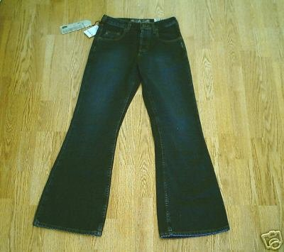 SILVER HIPSTER FLARE JEANS-SIZE 26 X 31 1/2-TAG 25-NWT