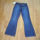 SILVER FADED LEG FLARE JEANS-26 X 32-TAG 24-NWT