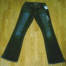 SILVER WHISKER FADED LEG BOOTCUT JEANS-28 X 34-27 T-NWT