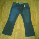 LEVIS 518 SUPERLOW BOOTCUT STRETCH JEANS-17-39 X 32.5-NWT