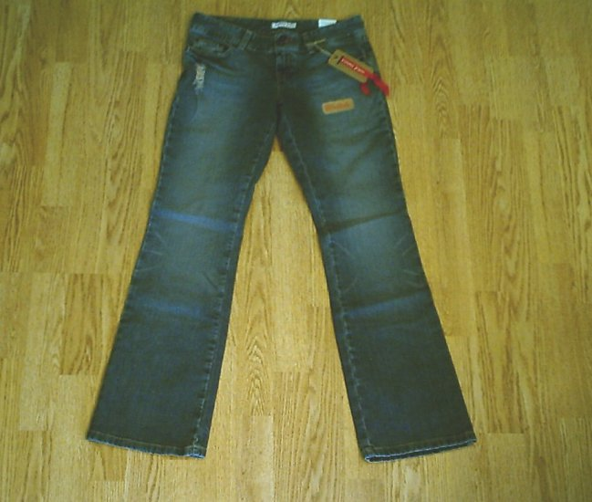 TOMMY SUPER LOW RISE BOOTCUT STRETCH JEANS-5-30 32-NWT