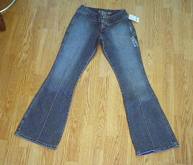 SILVER LOW RISE NEAT STYLE JEANS-SIZE 27 X 32 1/2-NWT