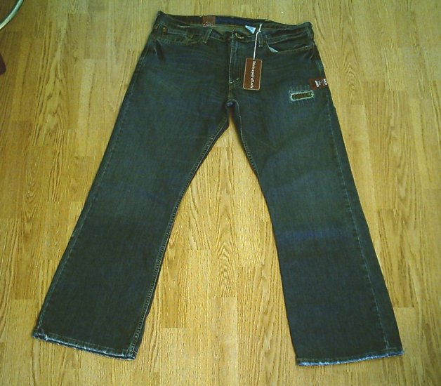LEVIS MENS 527 LOW RISE BOOTCUT JEANS-38 X 32-NWT NEW