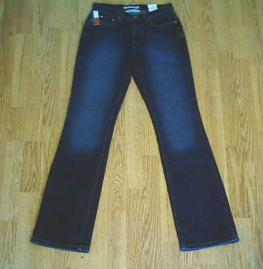 TOMMY HIPSTER STRETCH BOOTCUT JEANS-2 LONG-28 X 34-NWT