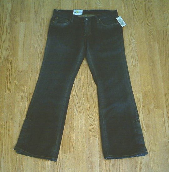 RALPH LAUREN ULTRA LOW RISE WHITNEY JEANS-8-33 X 31-NWT