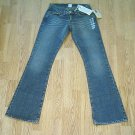 LUCKY LOW RISE WHISKER CUSTOM JEANS-SIZE 0-28 X 33-NWT
