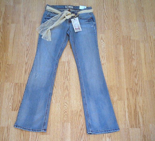 LEI ULTRA LOW RISE ASHLEY STRETCH JEANS-3-29 X 33-NWT
