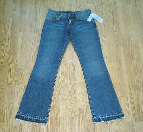 RALPH LAUREN LOW RISE JEANS-29 X 33-NWT-TAG SIZE 26