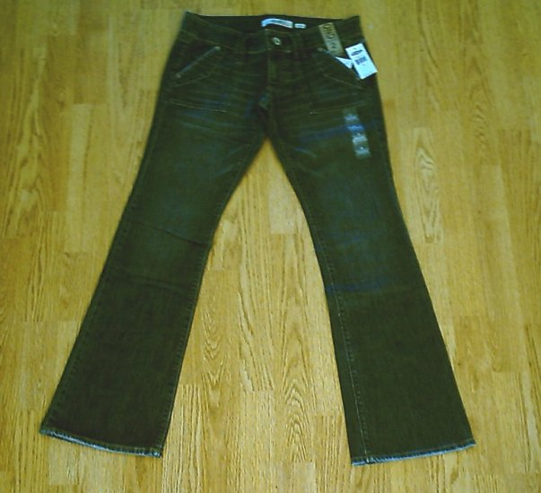 OLD NAVY ULTRA LOW BOOTCUT STRETCH JEANS-2-30 X 32-NWT