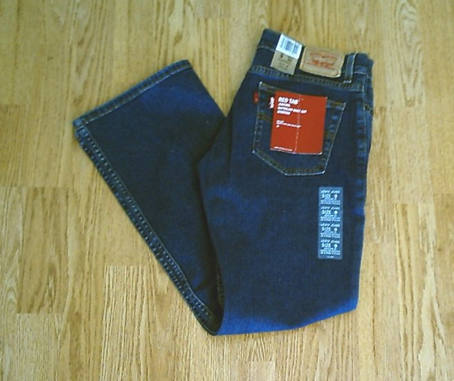 LEVIS SUPERLOW BOOTCUT STRETCH JEANS-SIZE 9-32 X 30-NWT