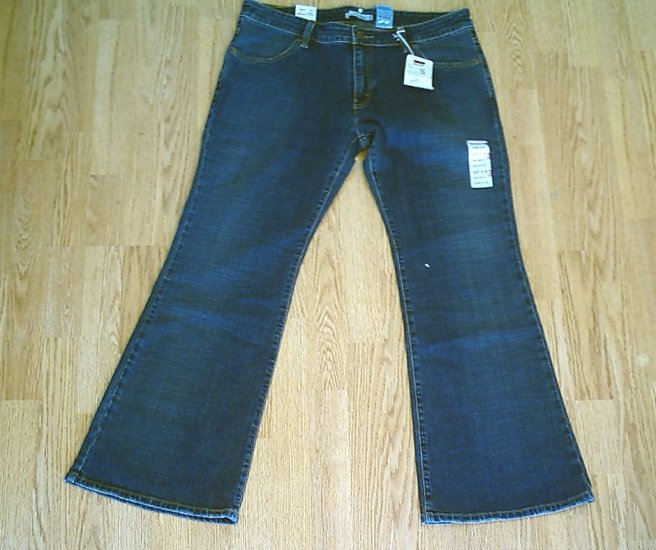 LEVIS 537 LOW FLARE STRETCH JEANS-SIZE 16-37 X 31.5-NWT