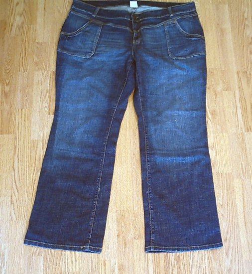 OLD NAVY LOW RISE BOOTCUT STRETCH JEANS-22 LONG-NWT