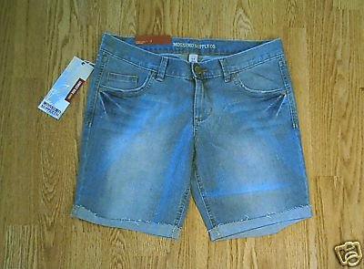 MOSSIMO JEANS LOW RISE BERMUDA SHORTS 9-34 X 8.5-NWT