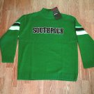 SOUTH POLE JEANS MENS GREEN SWEATER-SIZE XLARGE-NWT $50