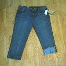 SEVEN JEANS PREMIUM CAPRI PANTS-SIZE 15/32-35/2-NWT $74