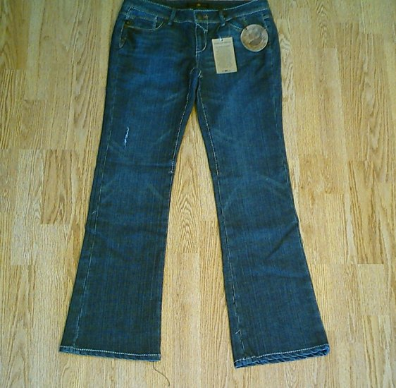SOURCE OF WISDOM LOW FLARE JEANS-SIZE 11-33 X 33-NWT