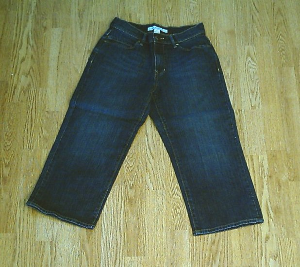 OLD NAVY JEANS AT WAIST CAPRIS-SIZE 4-28 X 22-NWT
