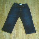 OLD NAVY JEANS AT WAIST CAPRIS-SIZE 6-29 X 22-NWT