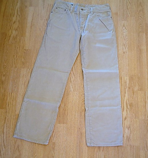 OLD NAVY JEANS MENS CORDUROY PANTS-SIZE 34 X 34-NWT