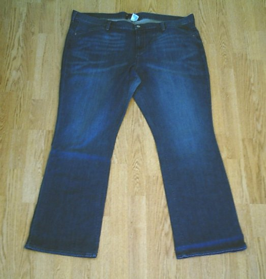OLD NAVY STRETCH MIDRISE BOOT JEANS-20 TALL-44 X 36-NWT