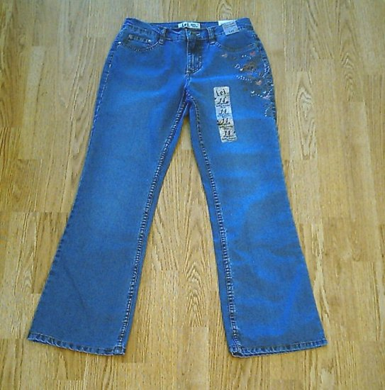 LEI GABBY LOWRISE FLARE GIRLS JEANS-SIZE 14-27 X 28-NWT