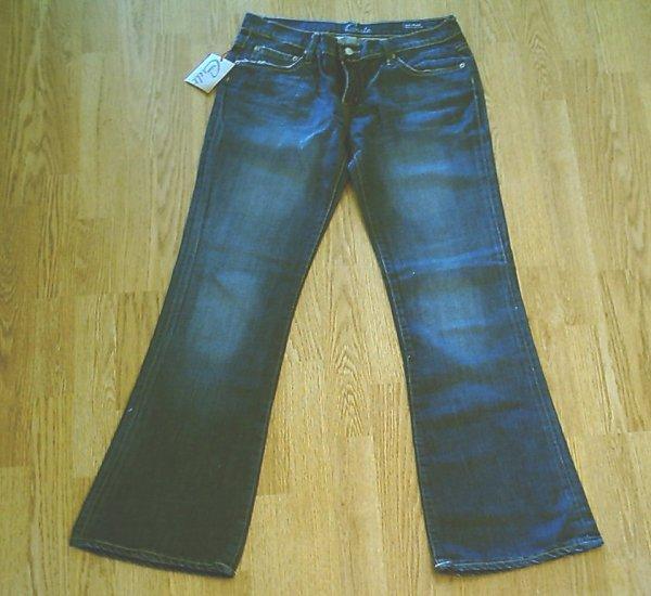 BLUE CULT KATE FLARE LEG-SIZE 33 X 33-TAG 30-NWT $170