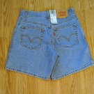 LEVIS JEANS 550 RELAXED DENIM SHORTS-SIZE 4-27/6.5-NWT