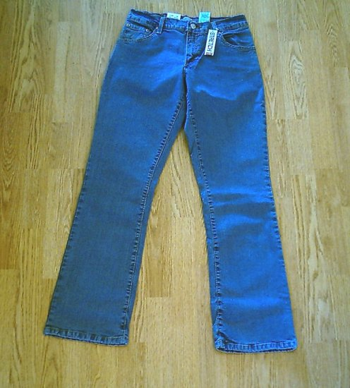 LEVIS 550 RELAXED BOOTCUT STRETCH JEANS-SIZE 8-NWT