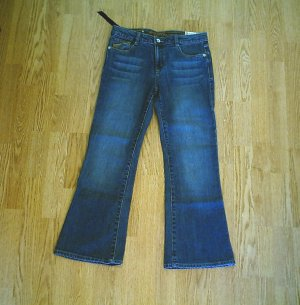 ARIZONA GIRLS FLARE STRETCH JEANS-12 1/2 PLUS-29/28-NWT