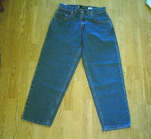 LEVIS SILVERTAB MENS BAGGY JEANS-SIZE 28 X 30-NWT