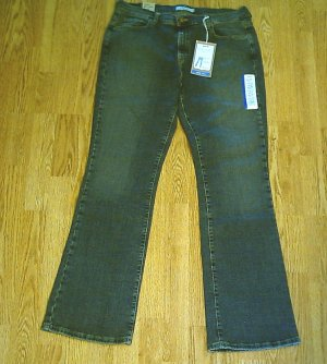 LEVIS 515 BOOTCUT STRETCH JEANS-12 LONG-34 X 34-NWT
