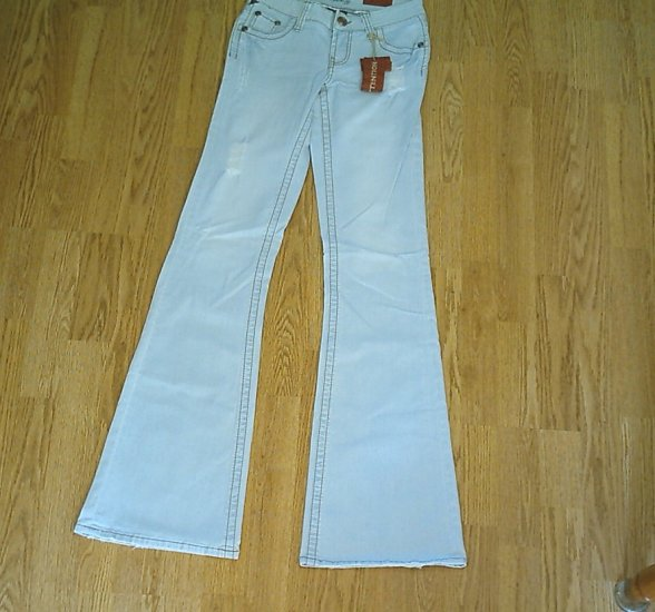 VANITY LOW RISE DELILAH JEANS-SIZE 27 X 37-TAG 26-NWT