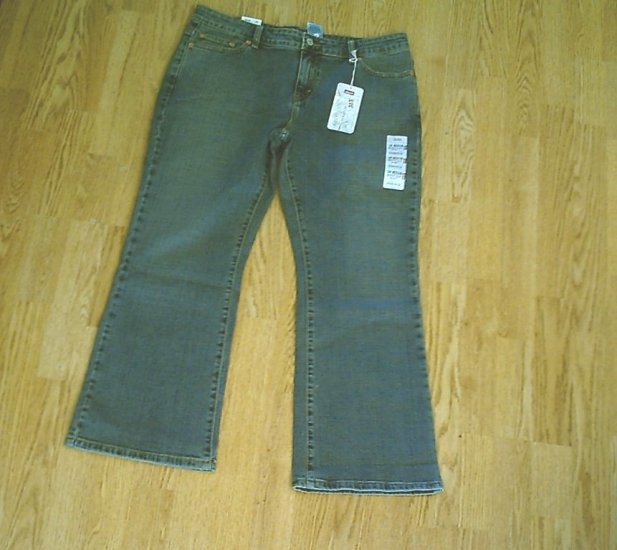 LEVIS 515 BOOTCUT STRETCH JEANS-14 PETITE-35 X 29-NWT